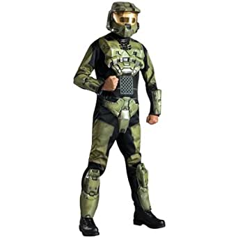 Halo 3 Master Chief Deluxe Halloween Costume - Adult Size X-Large