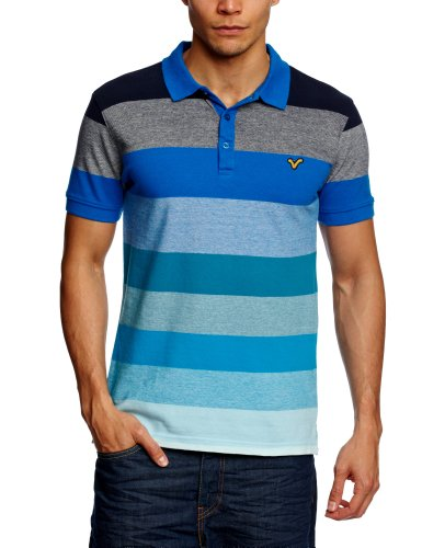 Voi Martin Polo Men's T-Shirt Dressers Blue/Sky Divers Large