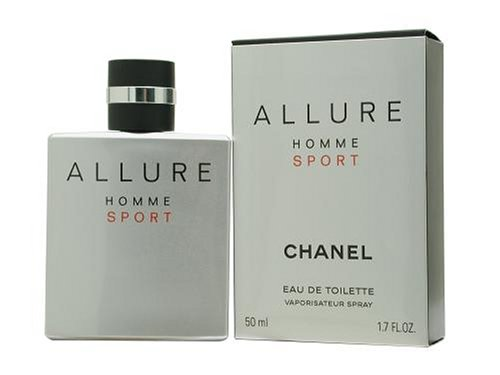 Allure cologne Allure Sport by Chanel for Men, Eau De Toilette Spray, 1.7 Ounce savings