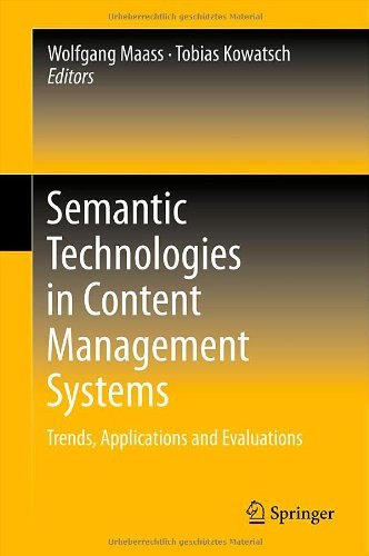 Semantic Technologies In Content Management Systems: Trends, Applications And Evaluations