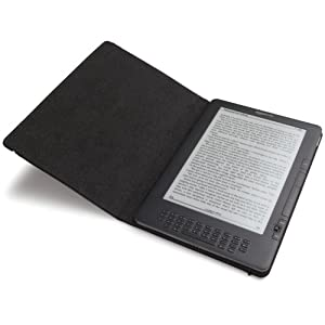 """Amazon Kindle DX Leather Cover w/ Strap (Fits 9.7"""" Display, Latest and 2nd Generation Kindles)"""