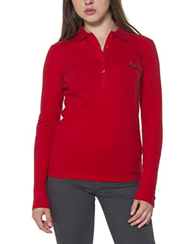 Fred Perry Polo Rojo S