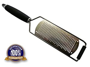 54 % OFF TODAY !!! Best Stainless Steel Fine Zester Grater;Lifetime Guarantee- Excellent... by LifeStyle Hill