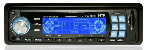 H&B USB/SD MP3 Digitales Autoradio 2000i (4x