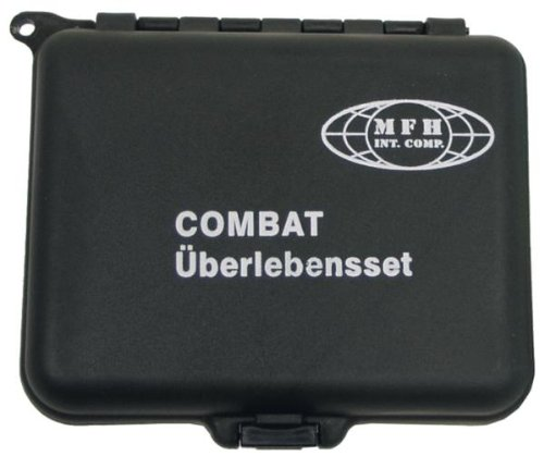 Combat Überlebensset in wasserdichter Box
