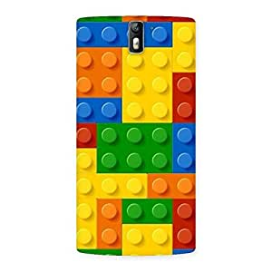 Delighted Toy Design Print Back Case Cover for One Plus One
