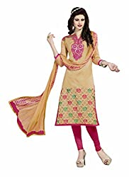 Parinaaz Fashion Crepe Unstitched Dress Material
