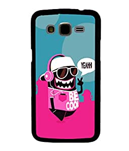 printtech Cool Cartoon Swag Back Case Cover for Samsung Galaxy J5::Samsung Galaxy J5 J500F