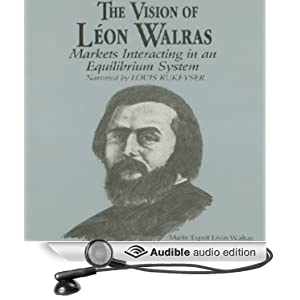 the contributions of leon walras to economics L walras first formulated the state of the economic system at any point of time as the solution of a system of simultaneous equations representing the demand for goods by consumers, the supply of goods by producers and the equilibrium condition that supply equal demand on every market.