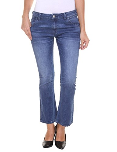 Alibi Women's Jeans (ALJN000213A_28_Light Blue_28)