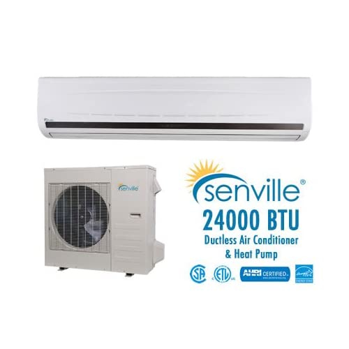 Senville 24000 BTU Ductless Air Conditioner and Heat Pump   Energy Star