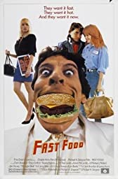 Fast Food Movie Poster Home Theater Decor Metal Tin Sign Wall Art Collection 8 inches x 12 inches