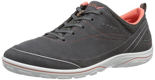 Ecco ECCO ARIZONA, Damen Outdoor Fitnessschuhe, Grau (DARK SHADOW/CORAL58925), 39 EU (9 Damen UK)