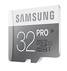 Samsung PRO MB-MG32DA microSDHC 32GB Memory Card with SD adapter