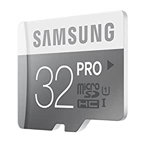 Samsung PRO MB-MG32DA microSDHC 32GB Memory Card with SD adapter