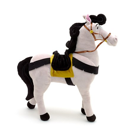 Authentic Disney Sleeping Beauty Prince Phillip's Samson Horse 15 Medium Plush Soft Doll Toy creative simulation plush soft fox naruto toy polyethylene