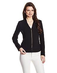 GAS Women's Blouson Jacket (83425_Black_38)
