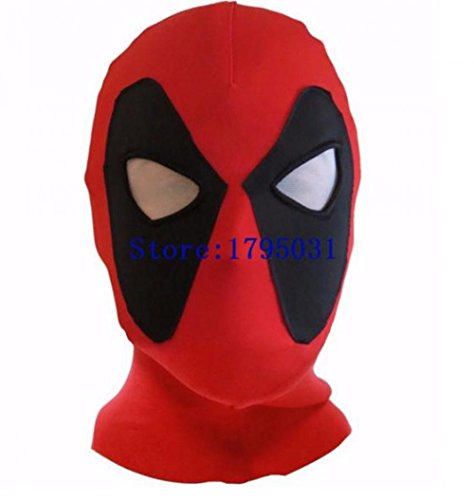 [X-Men Movie Deadpool Figure Party Face Mask Kids Toys Deadpool Cosplay Costume Mask Spielzeug Geschenk] (Hungry Hippo Costumes)