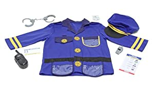 Melissa & Doug Police Officer Role Play Costume Set, Ages 3-6 yrs by Melissa & Doug