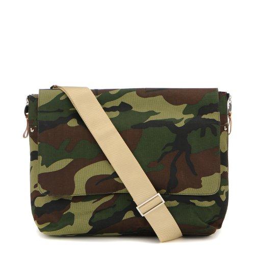 Danzo Diaper Messenger Bag, Camo front-491265