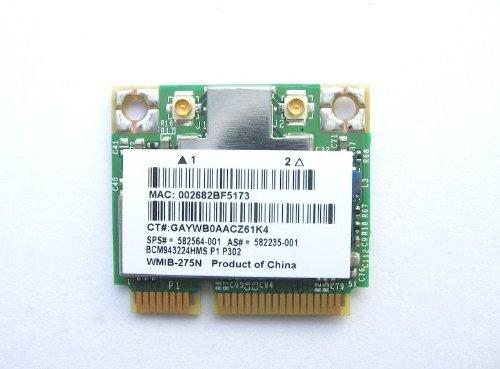Hp Broadcom Half Bcm943224Hms Wifi Card 518434-001 802 11