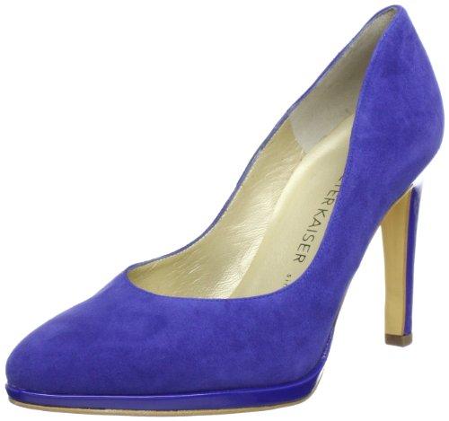 Peter Kaiser HERDI Plateau Women's blue Blau (ROYAL SUEDE CRAKLE 715) Size: 7 (41 EU)