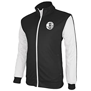 Brooklyn Nets Adidas Lightweight Polyester Mesh Jacket by Adidas