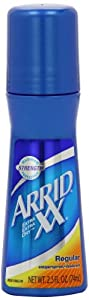 Arrid XX Antiperspirant/Deodorant Roll-On, Regular, 2.5-Ounce Bottles (Pack of 6)