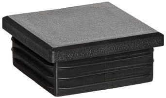 Kapsto 260 Q 5050 1.5 - 2 Polyethylene Square Plug, Black, 50 mm (Pack of 100)