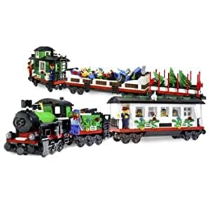 Lego city holiday train set case of 1 toys for Case lego city