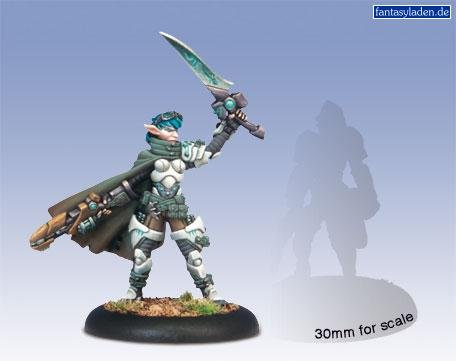 Privateer Press - Warmachine - Retribution: Warcaster Kaelyssa Model Kit