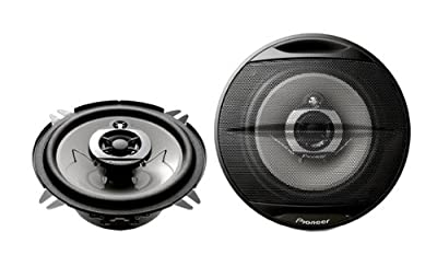 Pioneer TS-G1313i 3-Wege Koaxial Auto-Lautsprecher (13 cm Wooferdurchmesser, 140 Watt, IMPP Konustieftöner) schwarz von Pioneer bei Reifen Onlineshop
