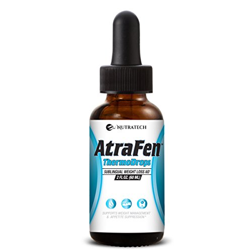 Atrafen Thermodrops - Enhanced Sublingual Diet Drops Burn Fat, Suppress Appetite, and Provide All Day Energy! (Garcinia Full Time Energy compare prices)