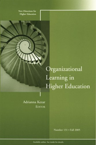 Organizational Learning in Higher Education: New...