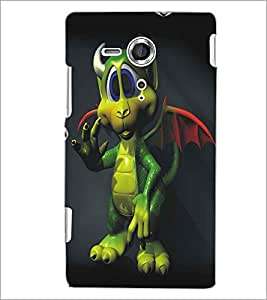 PRINTSWAG CARTOON CHARACTER Designer Back Cover Case for SONY XPERIA SP