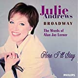 Julie Andrws Sings My Fair Lady: Camelot: Brigadoon