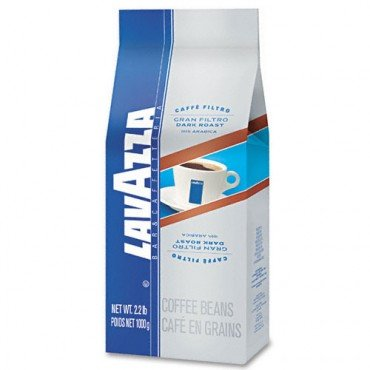 Lavazza 8-oz. Ground Coffee, Gran Filtro Dark Roast