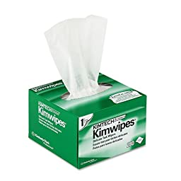 Kimberly-Clark Professional Kimtech Science Kimwipes, Tissue, 4 2/5 X 8 2/5, 280/Box, 30/Carton