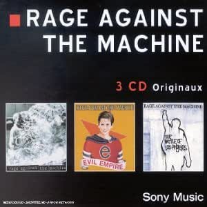 Coffret 3 CD : Rage Against The Machine / Evil Empire / The Battle Of Los Angeles