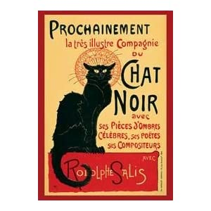 1art1 1469 Theophile Alexandre Steinlen Tournee du Chat Noir Poster 91 x 61 cm