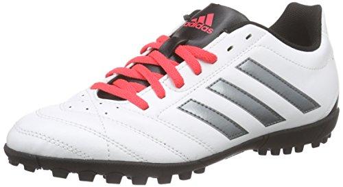 adidasGoletto V Tf - Scarpe da Calcio Uomo , Bianco (Weiß (Ftwr White/Night Met. F13/Shock Red S16)), 40 2/3 EU
