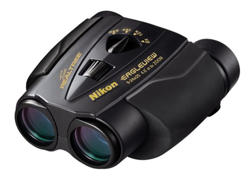 Nikon 7496 Eagleview Zoom 8-24 X 25mm Binoculars (Black)