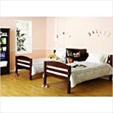 Bailey Bunk Bed in Espresso finish with 2 Free Mattresses