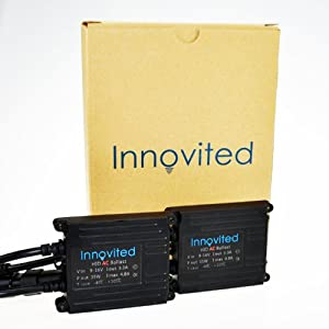 Innovited AC 35W HID Xenon Conversion Kit - H11 H9 H8 - 6000K - 2 Year Warranty