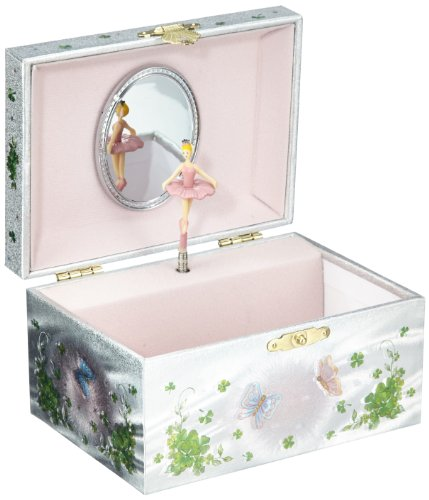 MusicBox Kingdom 28057 Irish Fairy Jewelry Music Box Playing The Melody