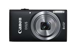 """Canon Ixus 132 Appareil photo numérique compact 16 Mpix Écran LCD 2,7"""" Zoom optique 8X Noir"""