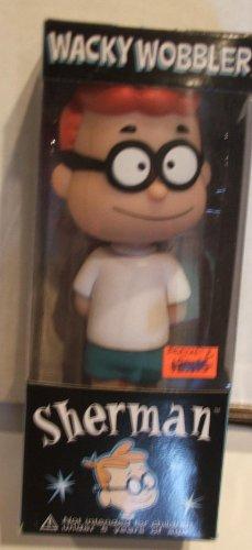 Picture of Sherman From Peabody & Bullwinkle Bobble Head Figure (Bobble Head Figures)