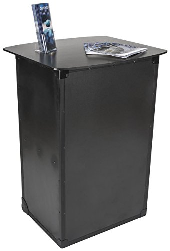 Portable Exhibition Cabinet : Displays go portable trade show counter built in cabinet