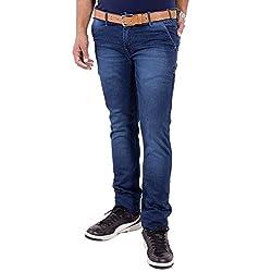 URBAN FAITH Blue Casual Jeans for Men
