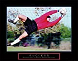 Success: Soccer Art Poster Print, 28x22
